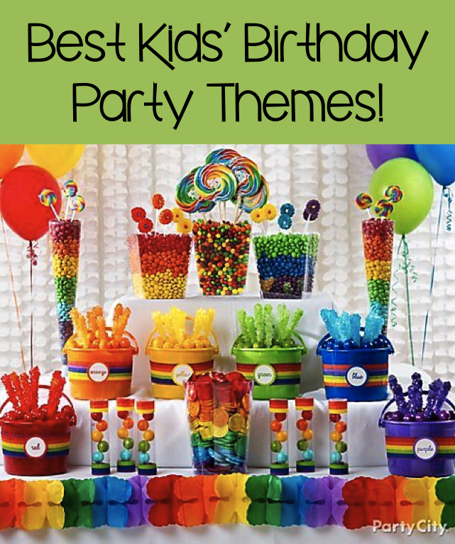 Party Theme Ideas For Kids  Best Kids' Birthday Party Themes 7 Great Ideas