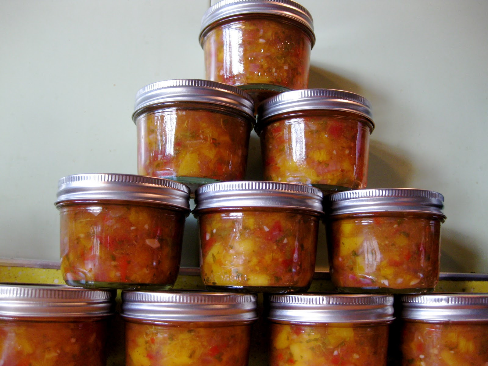 Peach Salsa Recipe For Canning  Farm Girl Blog Canning Peach Salsa and the Seduction of
