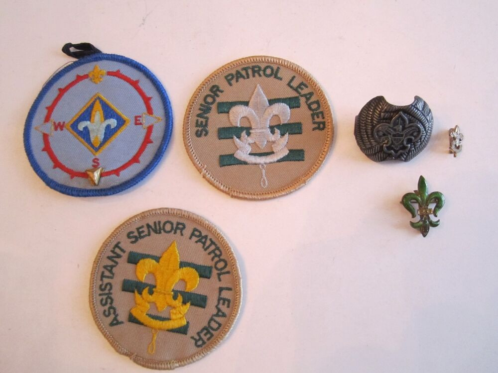 Pins And Patches  VINTAGE BOY SCOUTS PINS AND PATCHES NICE COLLECTION