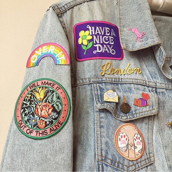 Pins And Patches  WRECKLESS PINS & PATCHES CRAZINESS