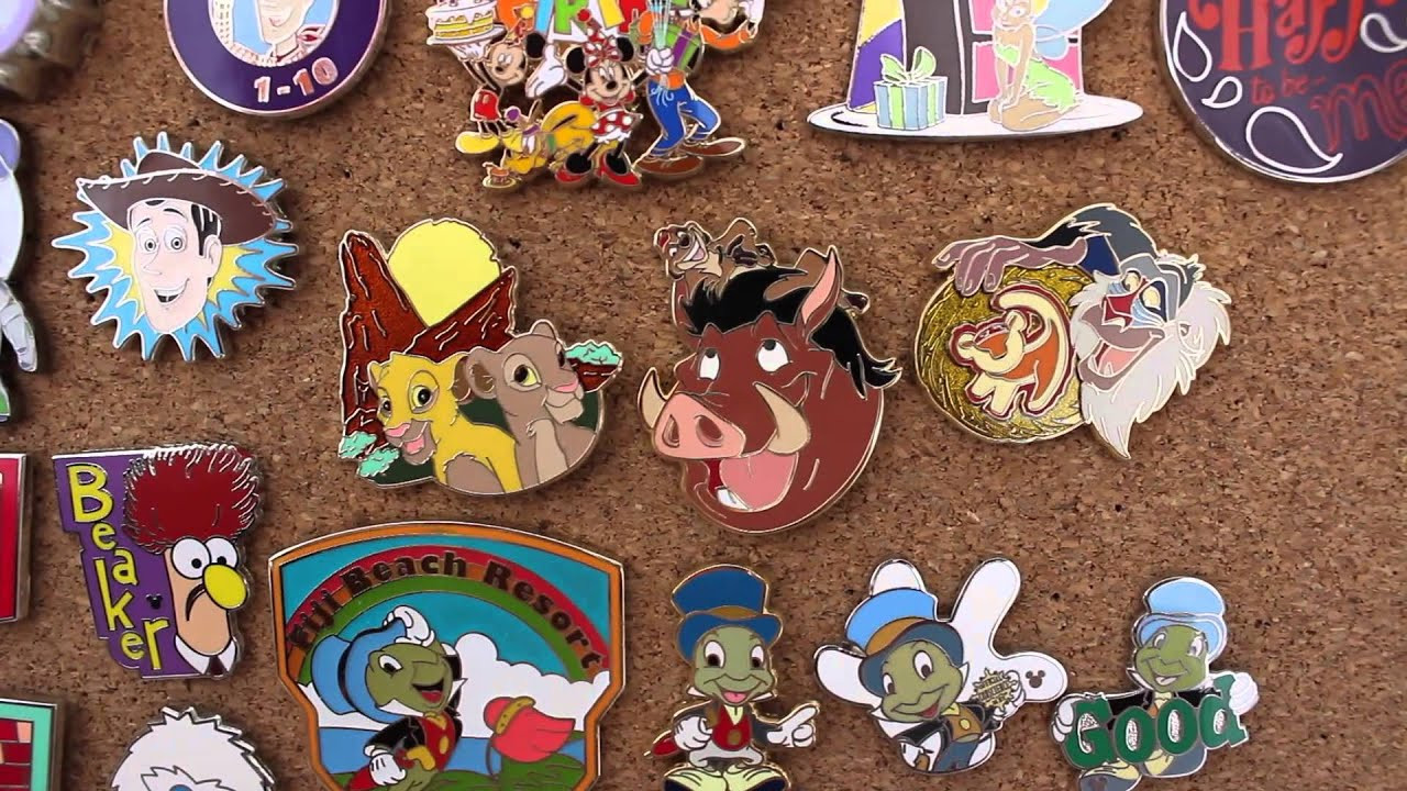 Pins Collection  MY ENTIRE DISNEY PIN COLLECTION 2015
