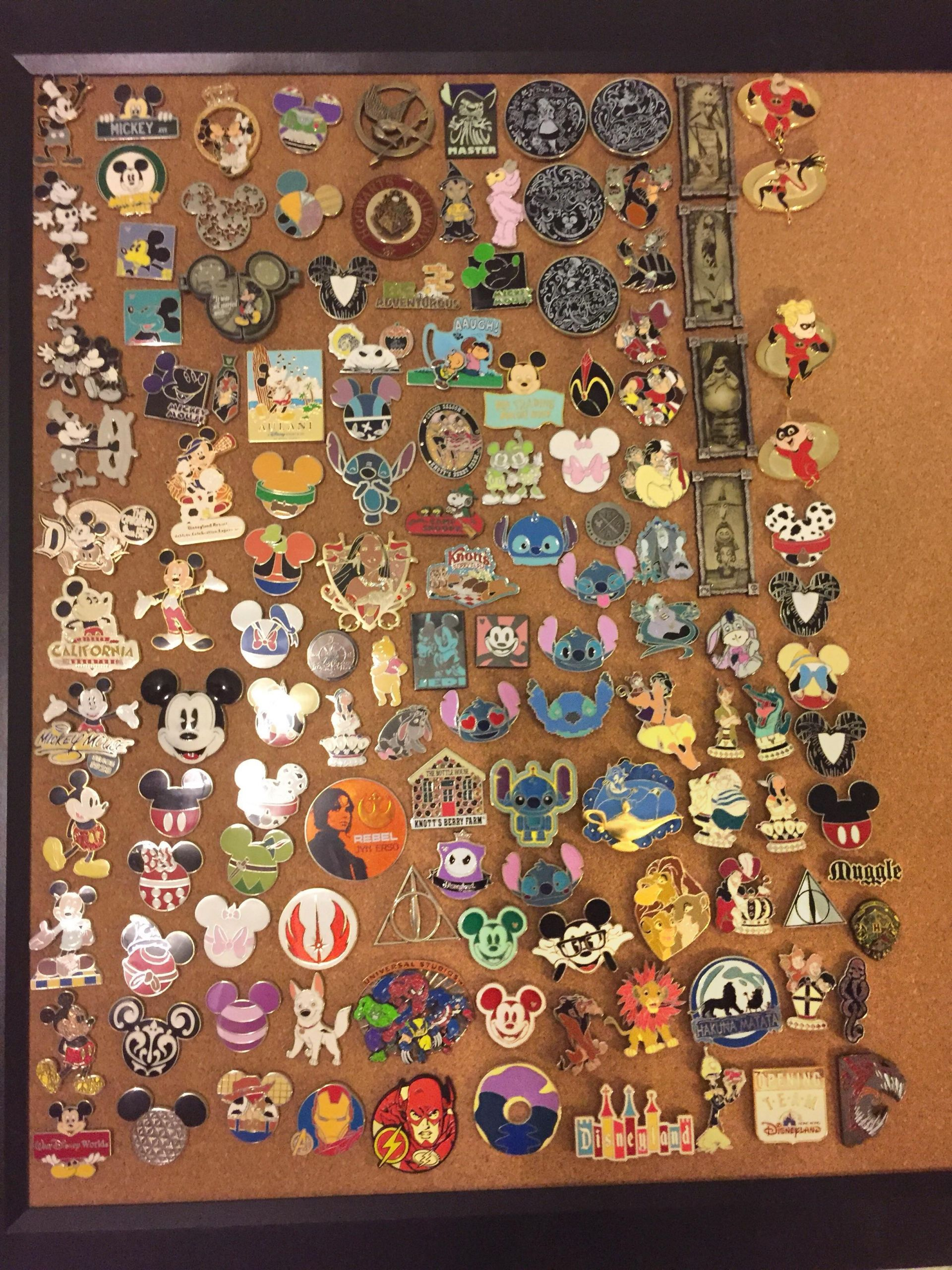 Pins Collection  My Pin Collection 2 3 Disney Pins EnamelPins