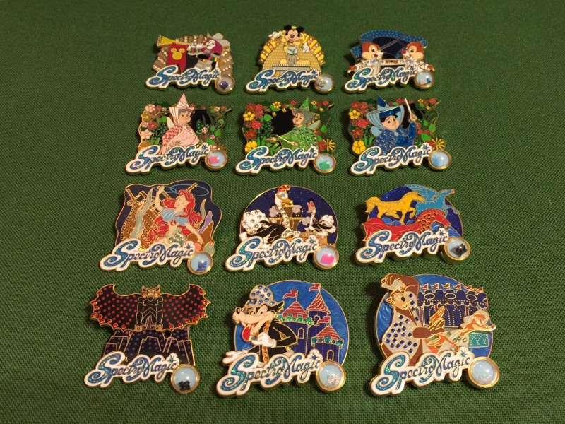 Pins Collection  SpectroMagic Pin Collection Disney Pins Blog