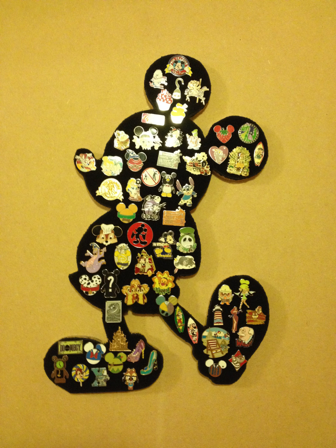 Pins Display  Disney Mickey Mouse Pin display board Showcase and Hold your