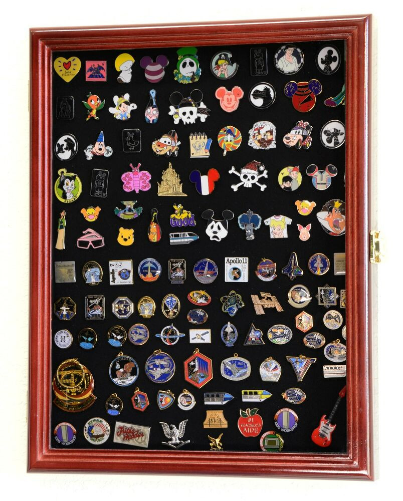 Pins Display  Lapel Pin Pins Patches Medals Buttons Ribbons Display Case