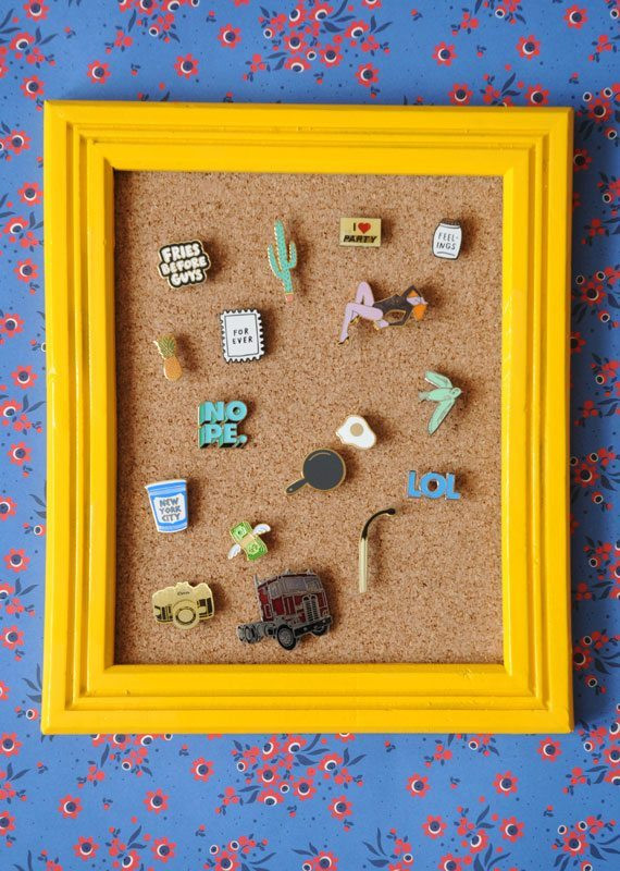 Pins Display  Turn Your Pin Collection Into a Work of Art Etsy Journal
