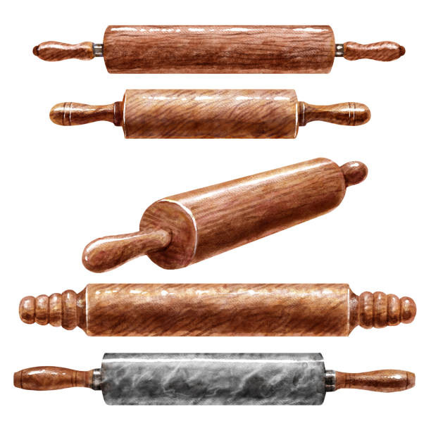 Pins Illustration  Best Rolling Pin White Background Illustrations Royalty