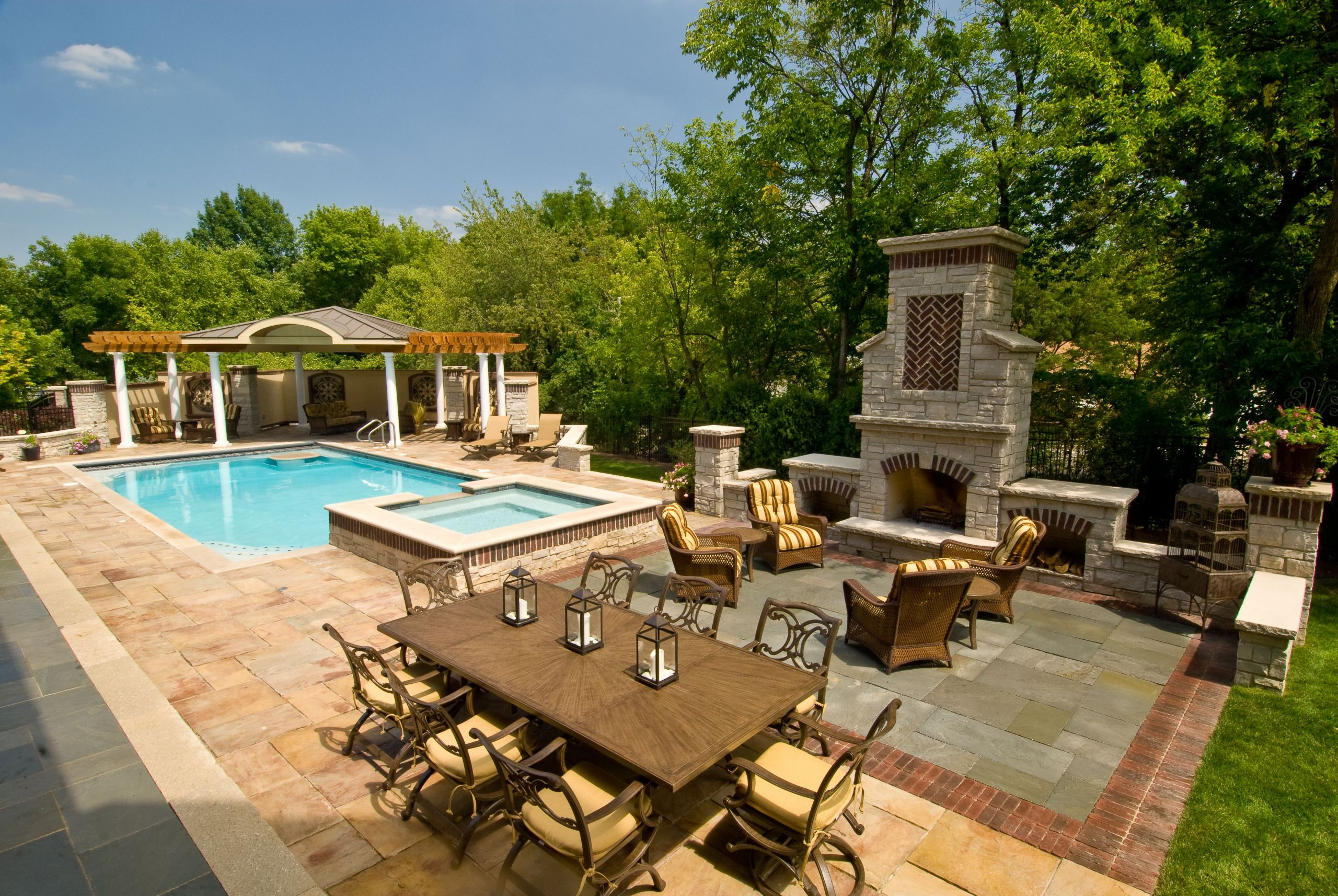 Pool Images Backyard  Backyard Landscaping Ideas for Beginners and Some Factors