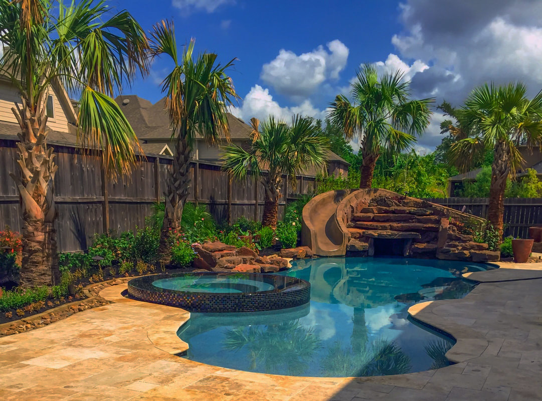 Pool Images Backyard  Houston Pool and Yard Landscaping Ideas Outdoor Perfection