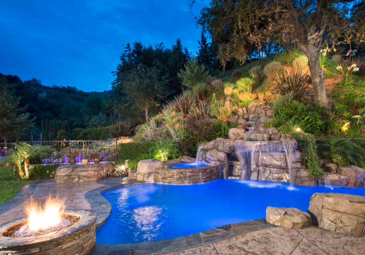 Pool Images Backyard  What are the Different Pool Landscape Ideas Residence Style