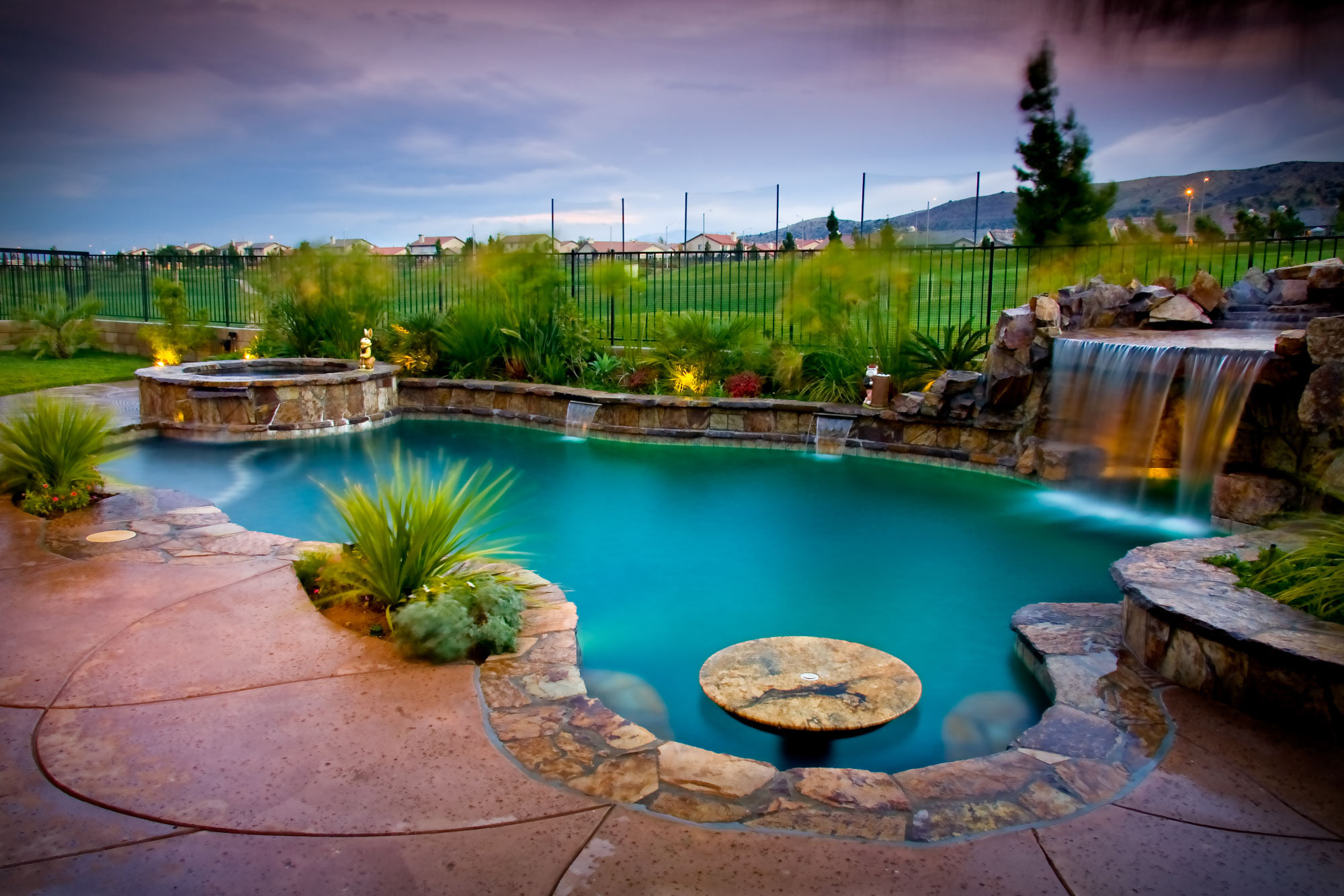 Pool Images Backyard  Create a Serene Backyard Oasis With an In Ground Pool