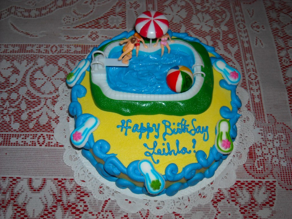 Pool Party Cake Ideas For Birthdays  Pool Party Cakes – Decoration Ideas