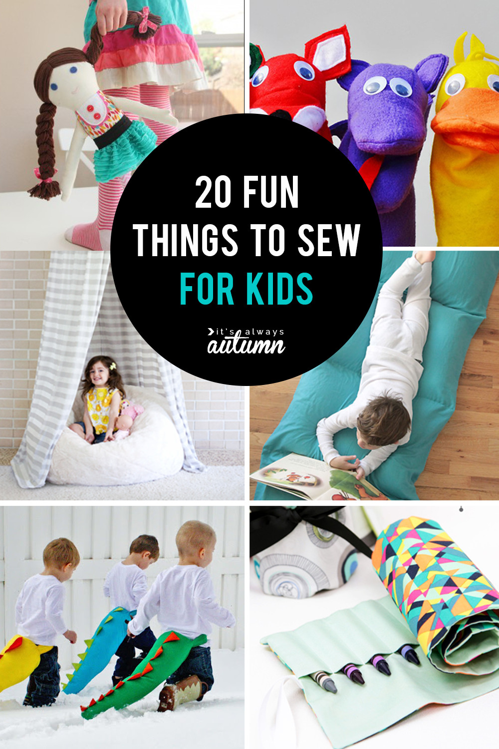 Popular Things For Kids  25 coolest things to sew for kids DIY t ideas  It s
