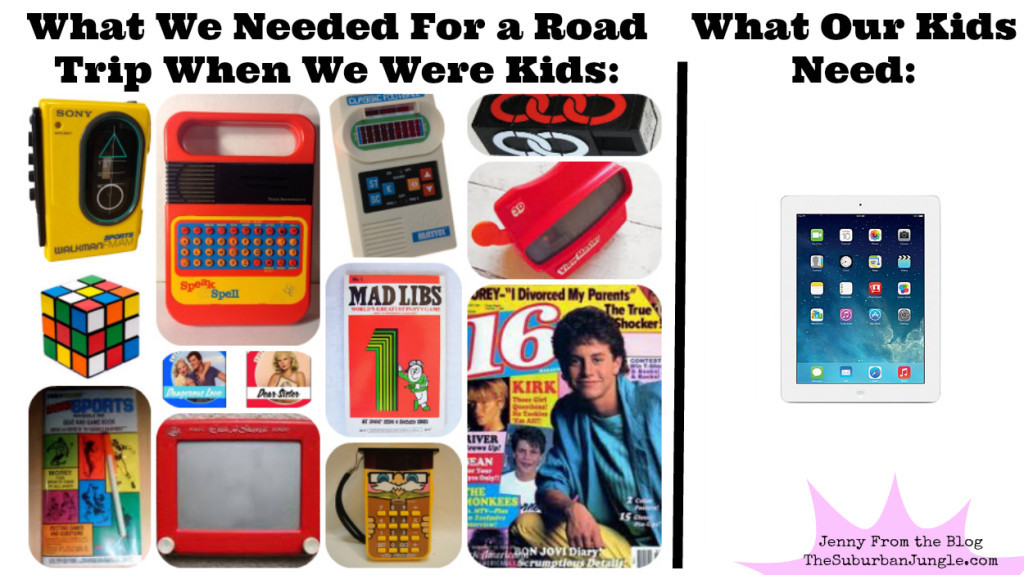 Popular Things For Kids  4 Ways Family Road Trips Have Changed Since Gen Xers Were