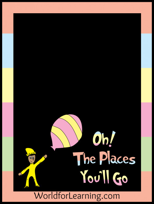 Pre K Graduation Quotes  Oh the Places You ll Go FREE Printable When I Grow Up