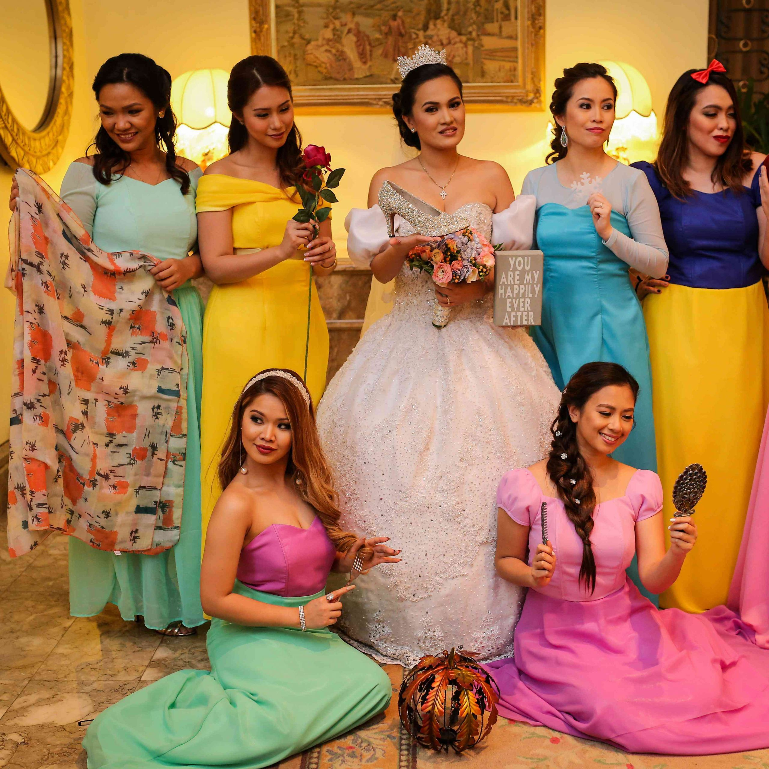 Princess Themed Wedding  This Over the Top Disney Princess Themed Wedding Will