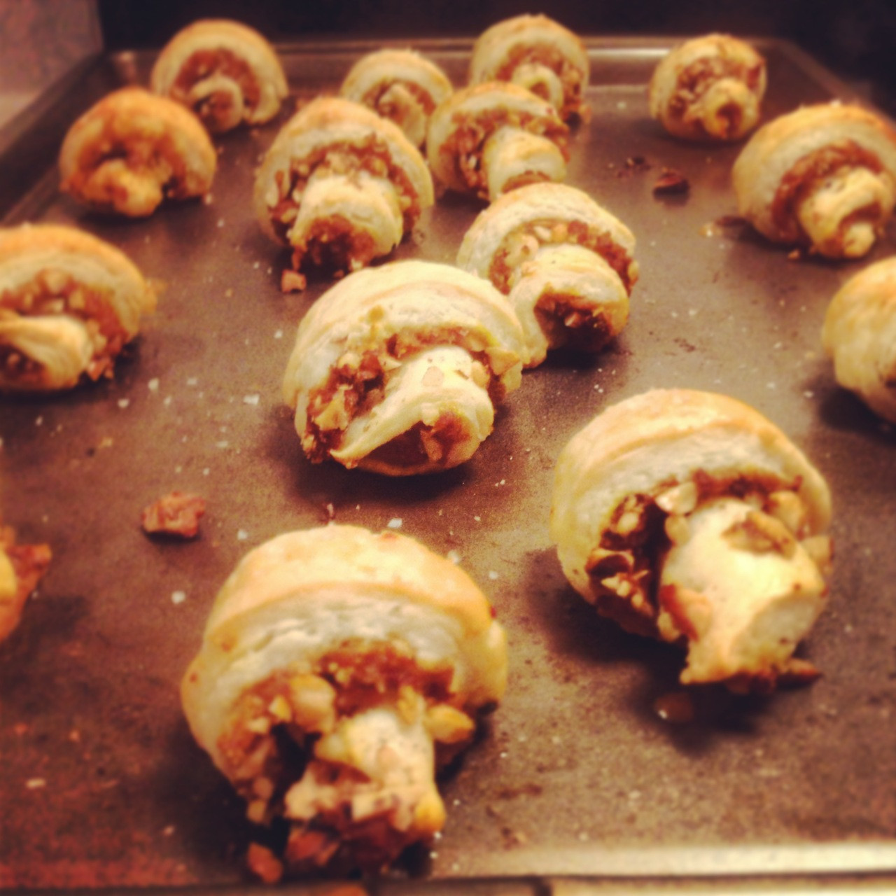 Pumpkin Appetizers Recipes  pumpkin rugelach appetizers Things I Made Today