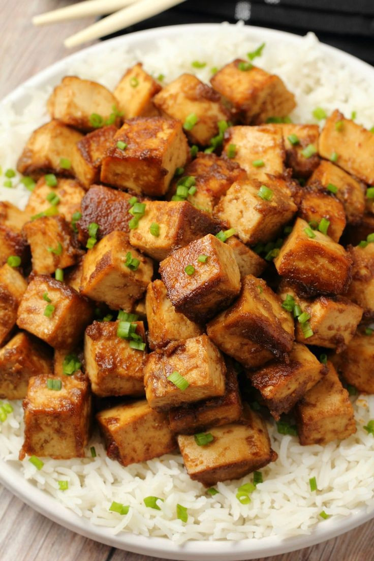 Quick Easy Tofu Recipes  Ultra delicious marinated tofu perfect for a quick and