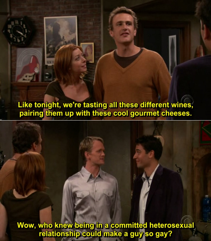 Quote From How I Met Your Mother  The Best Moments From How I Met Your Mother Jeff