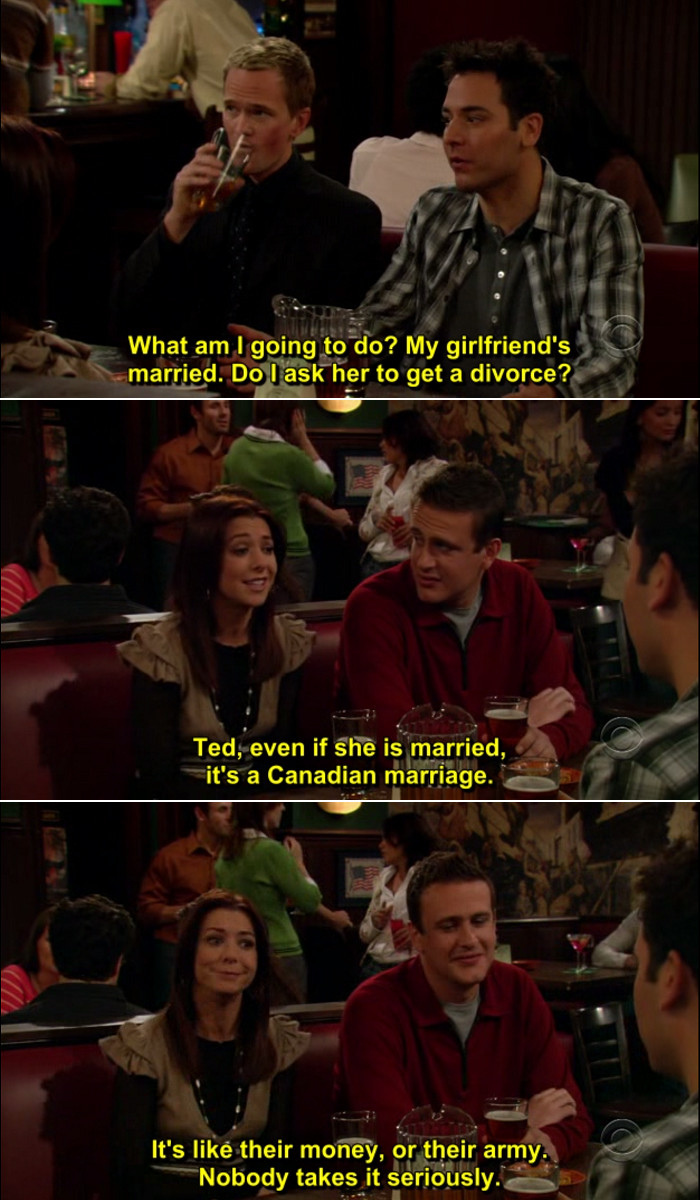 Quote From How I Met Your Mother  How I Met Your Mother Quote 11