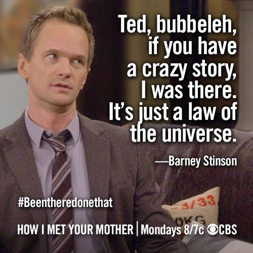 Quote From How I Met Your Mother  Quote HIMYM How I Met Your Mother Fanpop