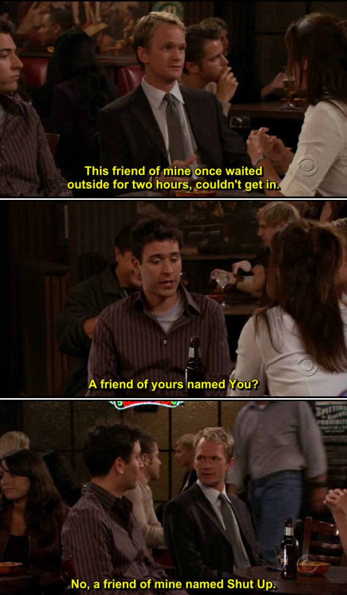 Quote From How I Met Your Mother  How I Met Your Mother Quote 4