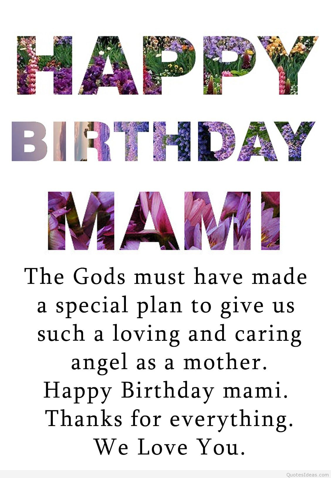 Quotes For Mothers Birthdays  Top happy birthday mom quotes
