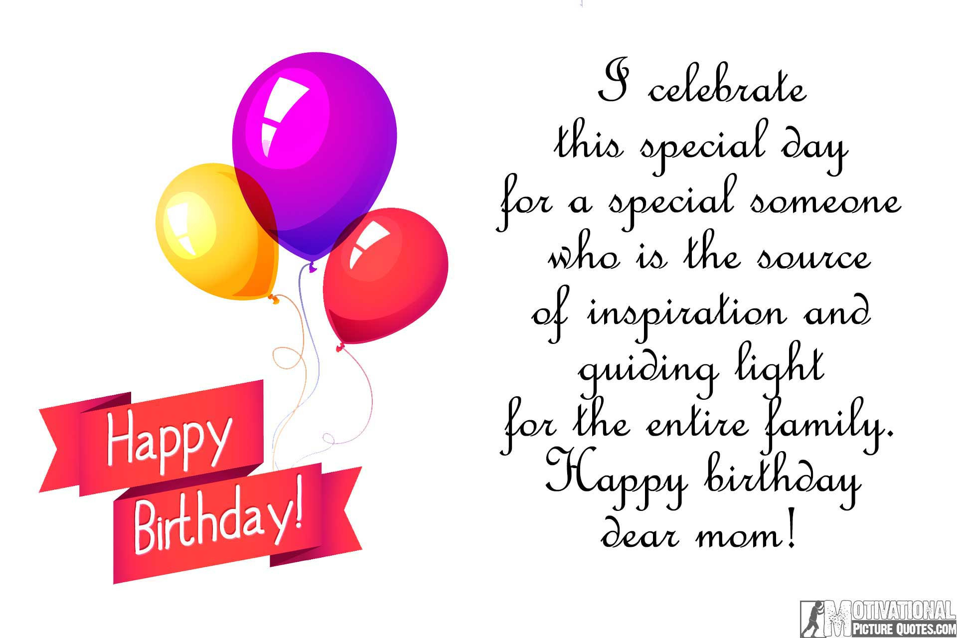 Quotes For Mothers Birthdays  35 Inspirational Birthday Quotes