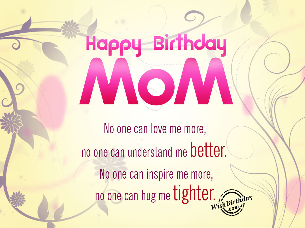 Quotes For Mothers Birthdays  Birthday Wishes For Mother Birthday