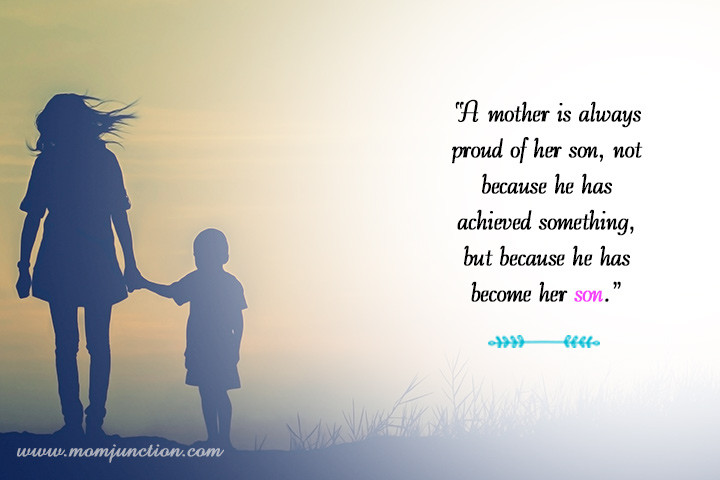 Quotes On Mothers And Sons  101 Heart Warming Mother And Son Quotes