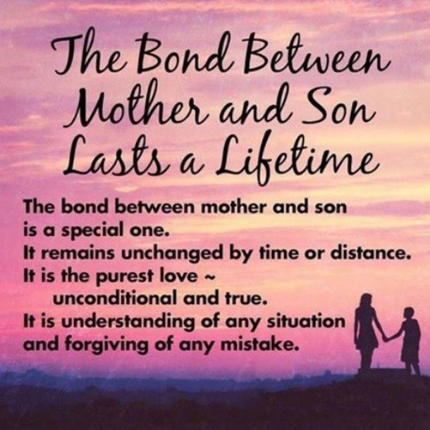Quotes On Mothers And Sons  10 Best Mother And Son Quotes