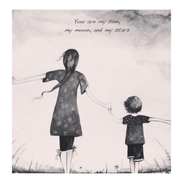 Quotes On Mothers And Sons  Loving Mother and Son Quotes with the Deep Meaning