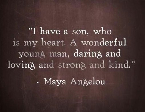 Quotes On Mothers And Sons  70 Mother Son Quotes To Show How Much He Means To You