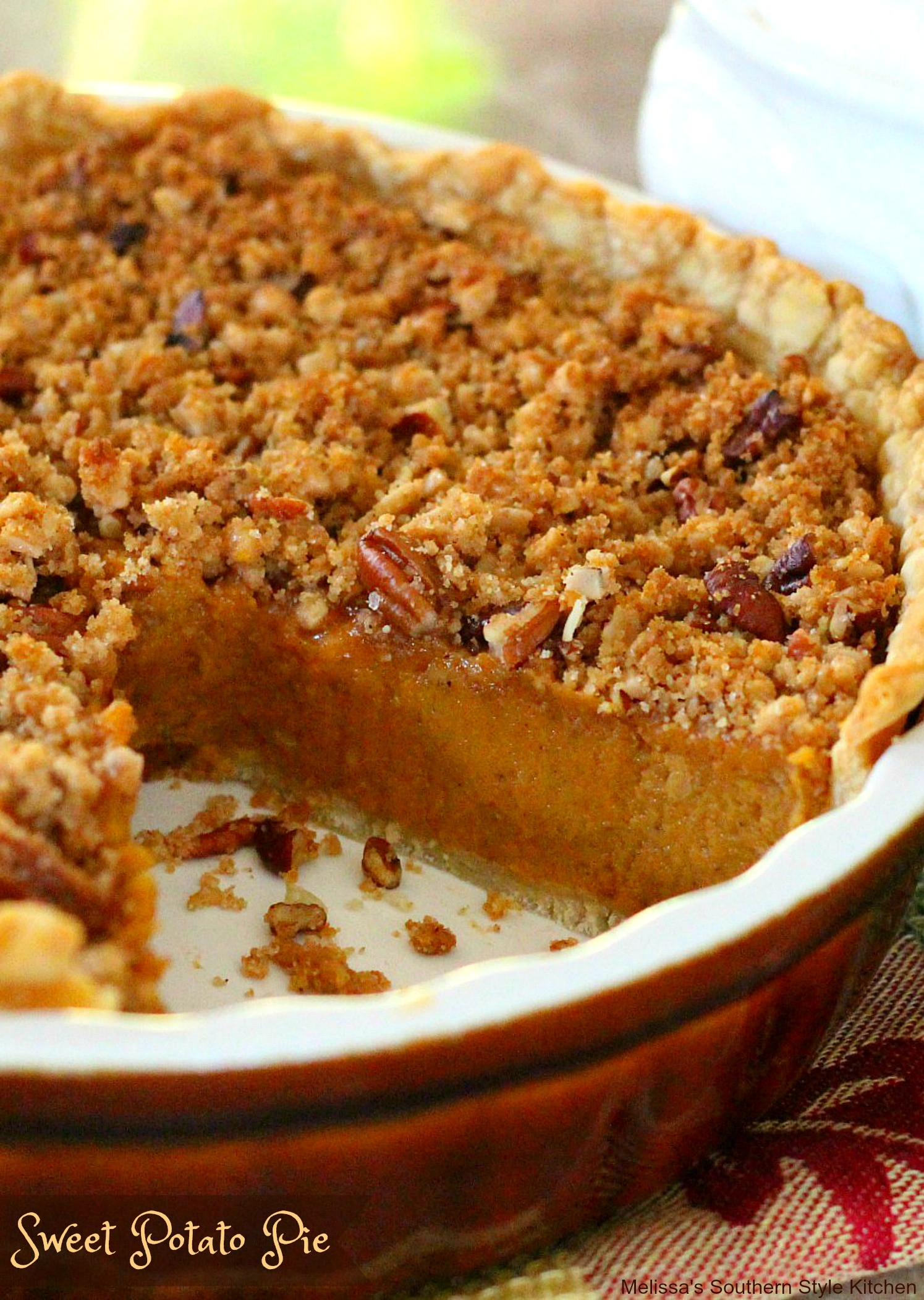 Recipe Sweet Potato Pie  A Southern Classic Sweet Potato Pie