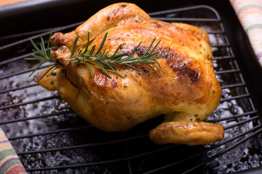 Recipes Cornish Game Hens  Roasted Cornish Game Hens with pound Herb Butter • The