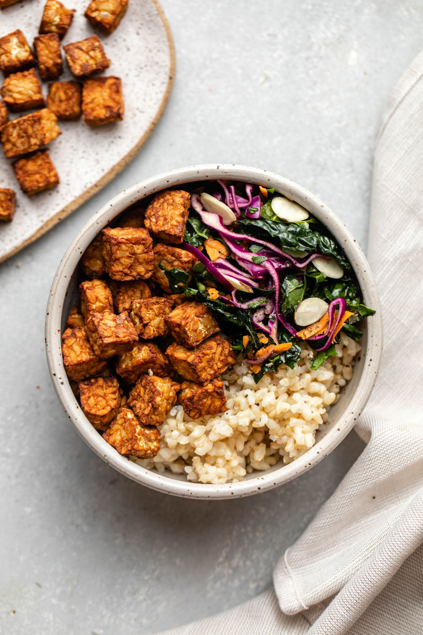 Recipes Using Tempeh  Easy Baked Tempeh 3 Ingre nts SO Crispy From My Bowl