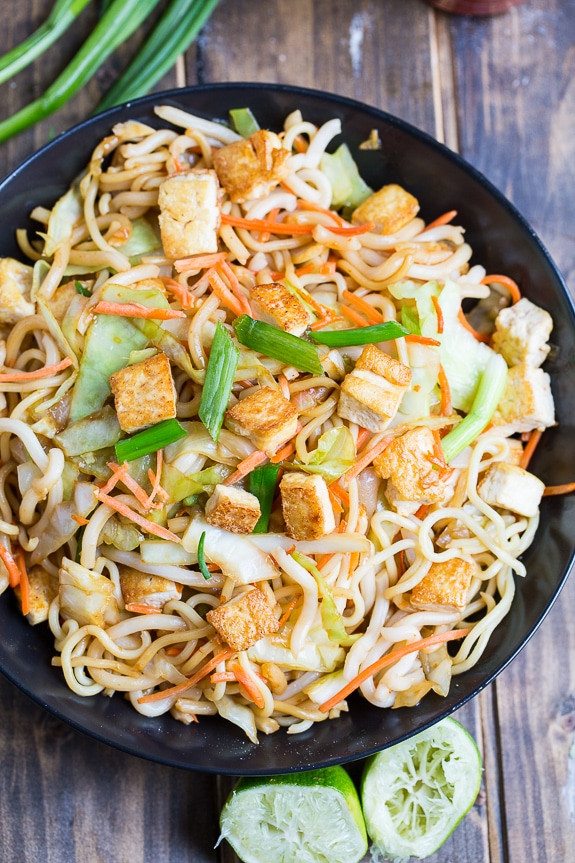 Recipes Using Tofu  Sriracha Noodles with Tofu Spicy Southern Kitchen