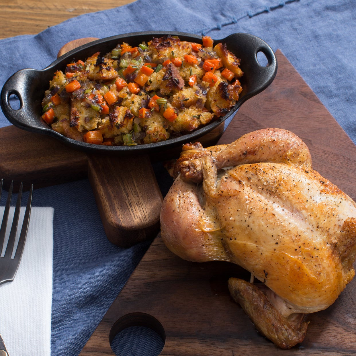 Roasted Cornish Game Hens Recipes  Recipe Roasted Cornish Game Hen with Rosemary Baguette