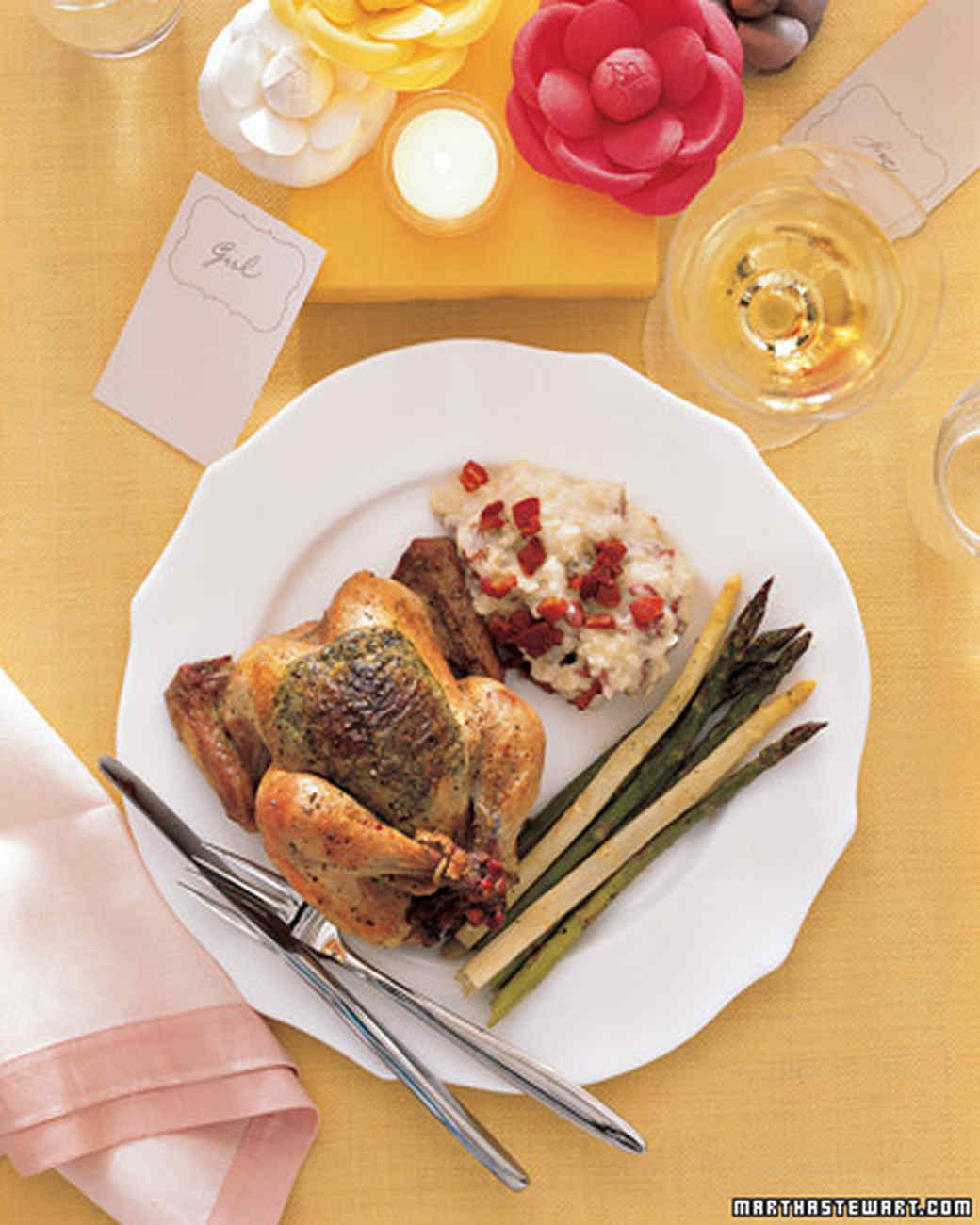 Roasted Cornish Game Hens Recipes  Herb Roasted Cornish Game Hens Recipe