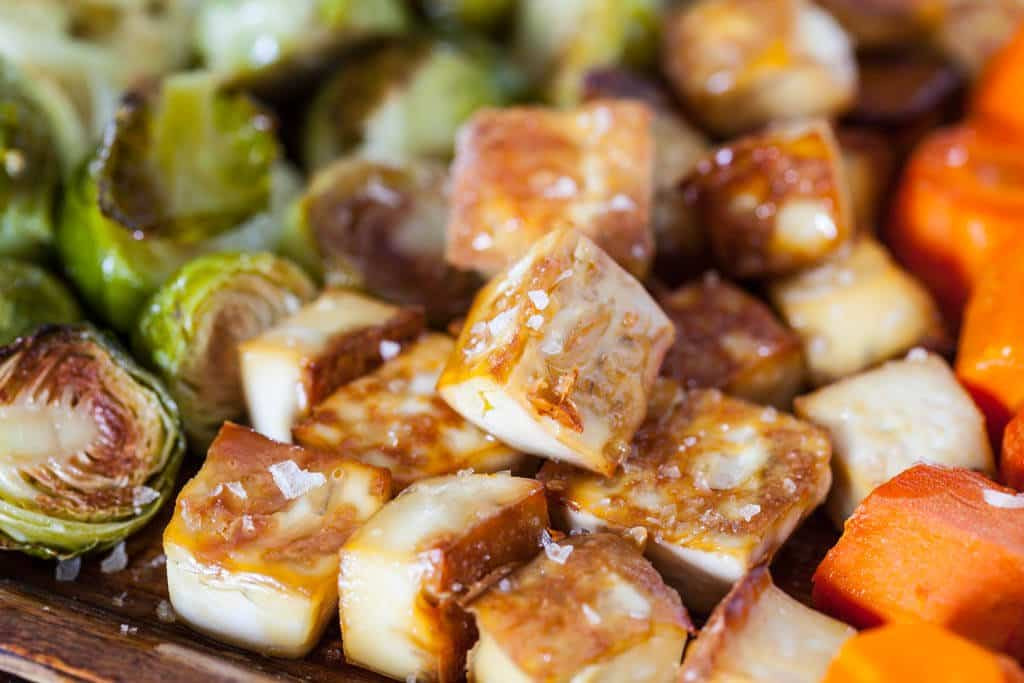 Roasted Tofu And Vegetables  Roasted Tofu and Ve ables Steamy Kitchen Recipes