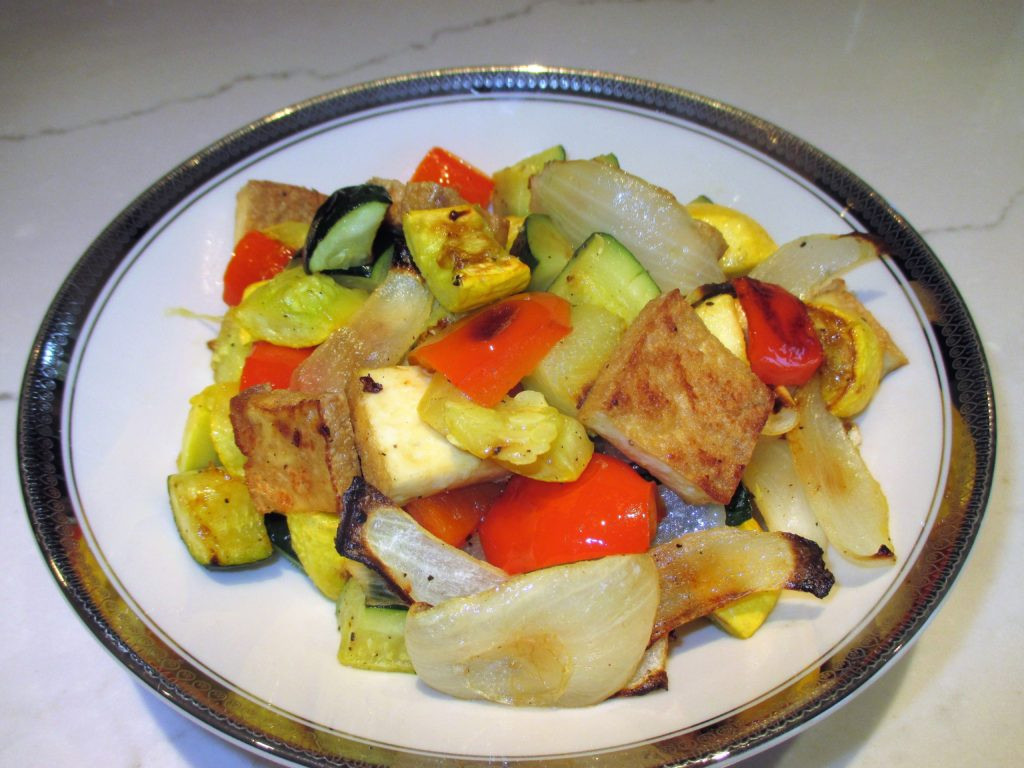 Roasted Tofu And Vegetables  Roasted Tofu and Ve ables – Ac modating Table