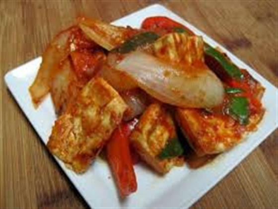Roasted Tofu And Vegetables  Recipe Roasted Tofu and Ve ables