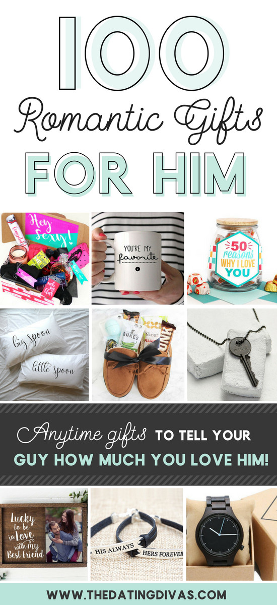 Sentimental Gift Ideas For Boyfriend  100 Romantic Gifts for Him From The Dating Divas