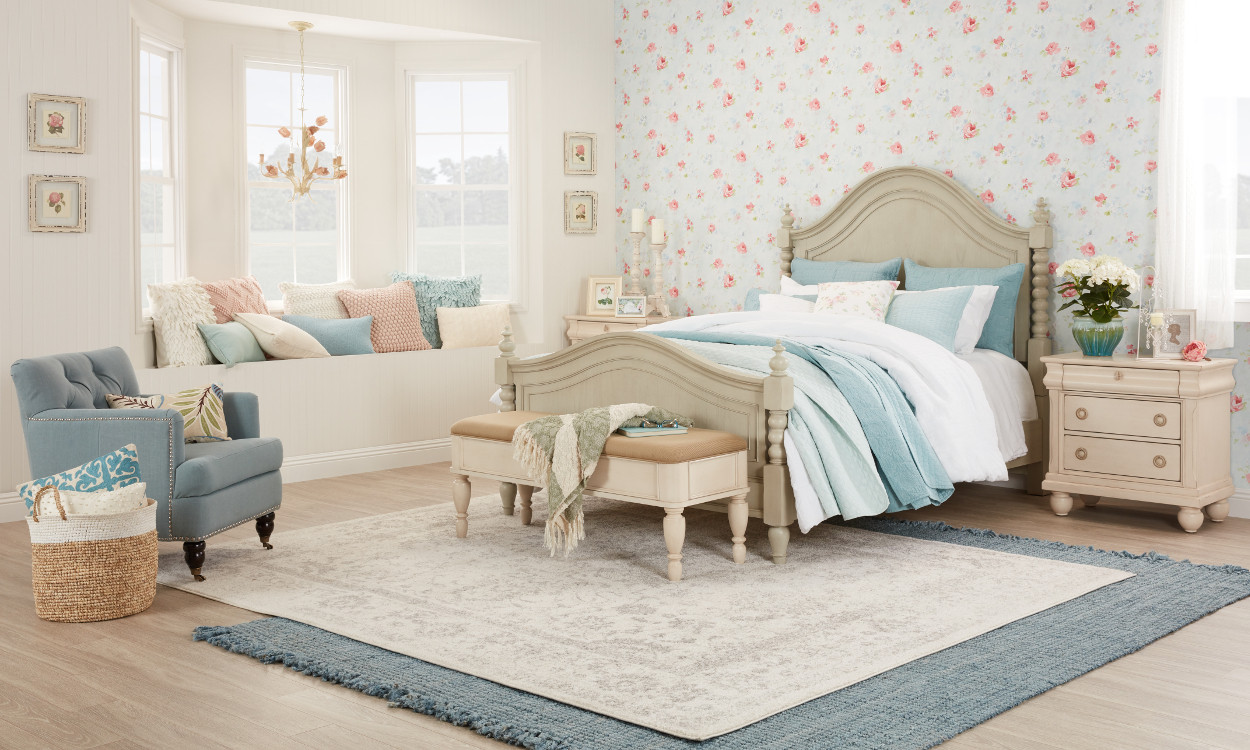 Shabby Chic Bedroom Furniture  Beautiful Shabby Chic Furniture & Decor Ideas Overstock