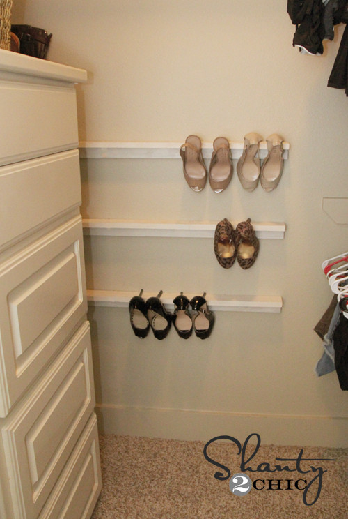Shoes Organizer DIY  Closet Organization Shoe Organizers DIY Shanty 2 Chic
