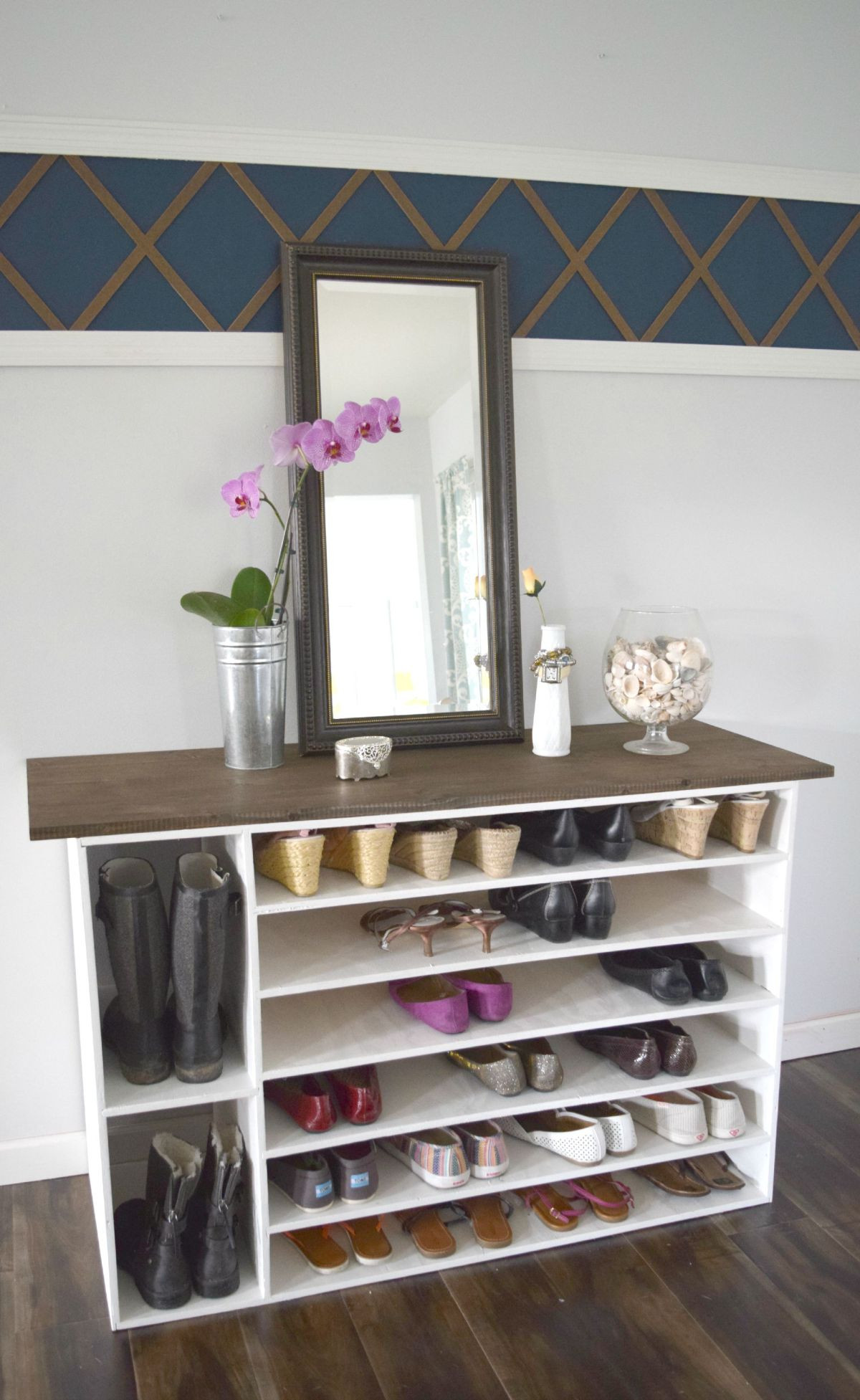 Shoes Organizer DIY  Stylish DIY Shoe Rack Perfect for Any Room