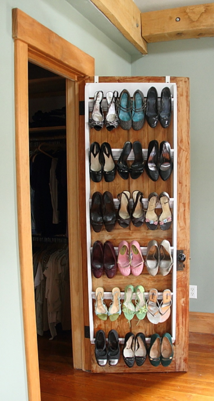 Shoes Organizer DIY  7 DIY Shoe Storage