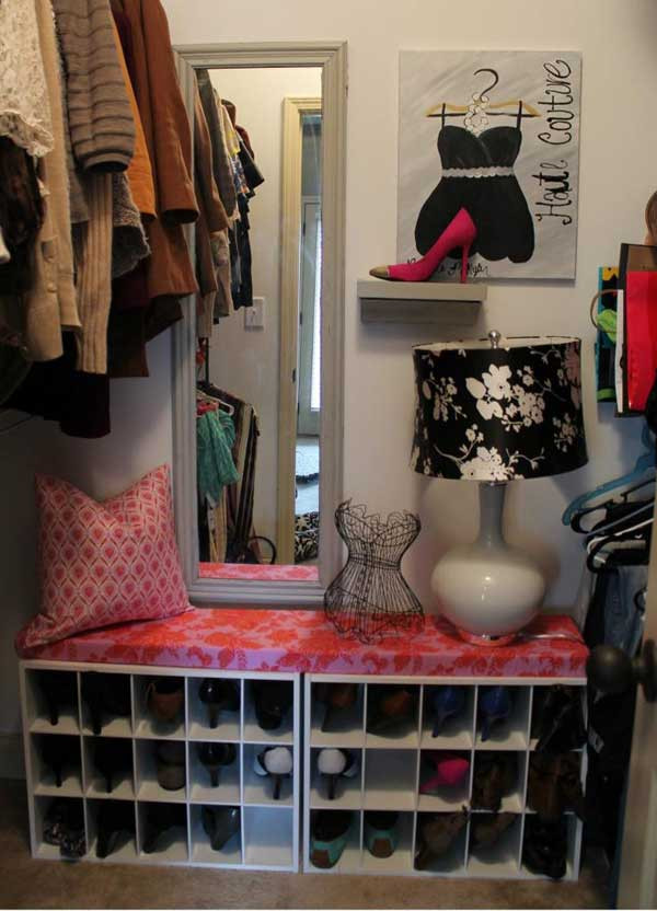Shoes Organizer DIY  28 Clever DIY Shoes Storage Ideas That Will Save Your Time