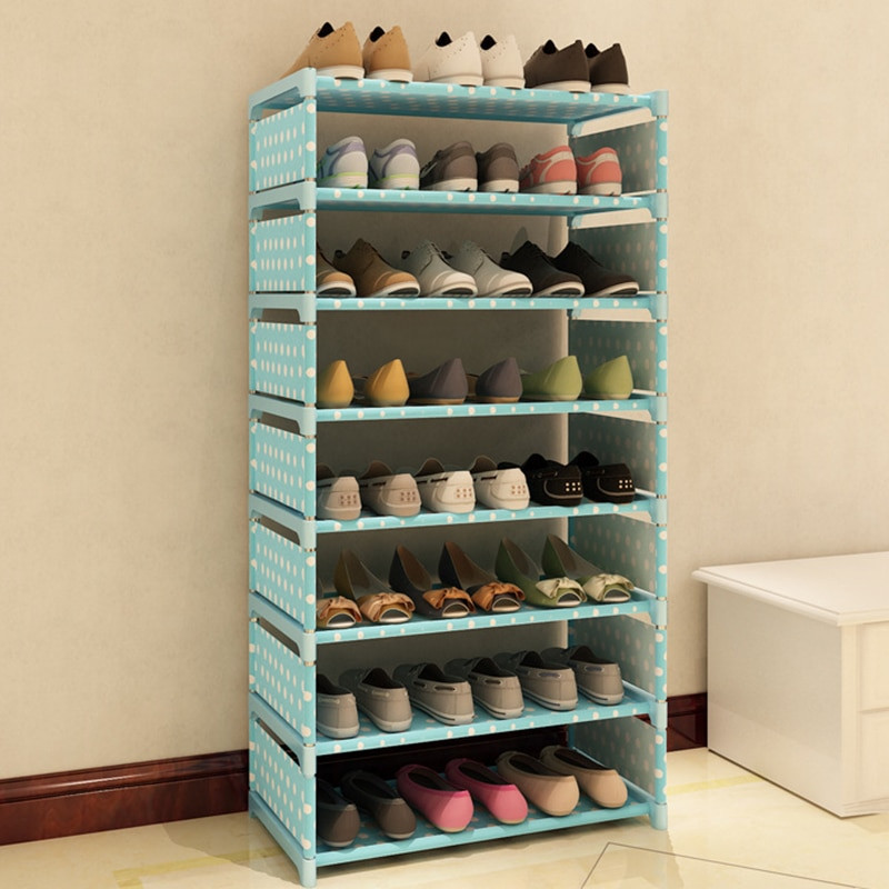 Shoes Organizer DIY  7 Layers Non woven Fabric Shoe Rack Shelf Storage Closet