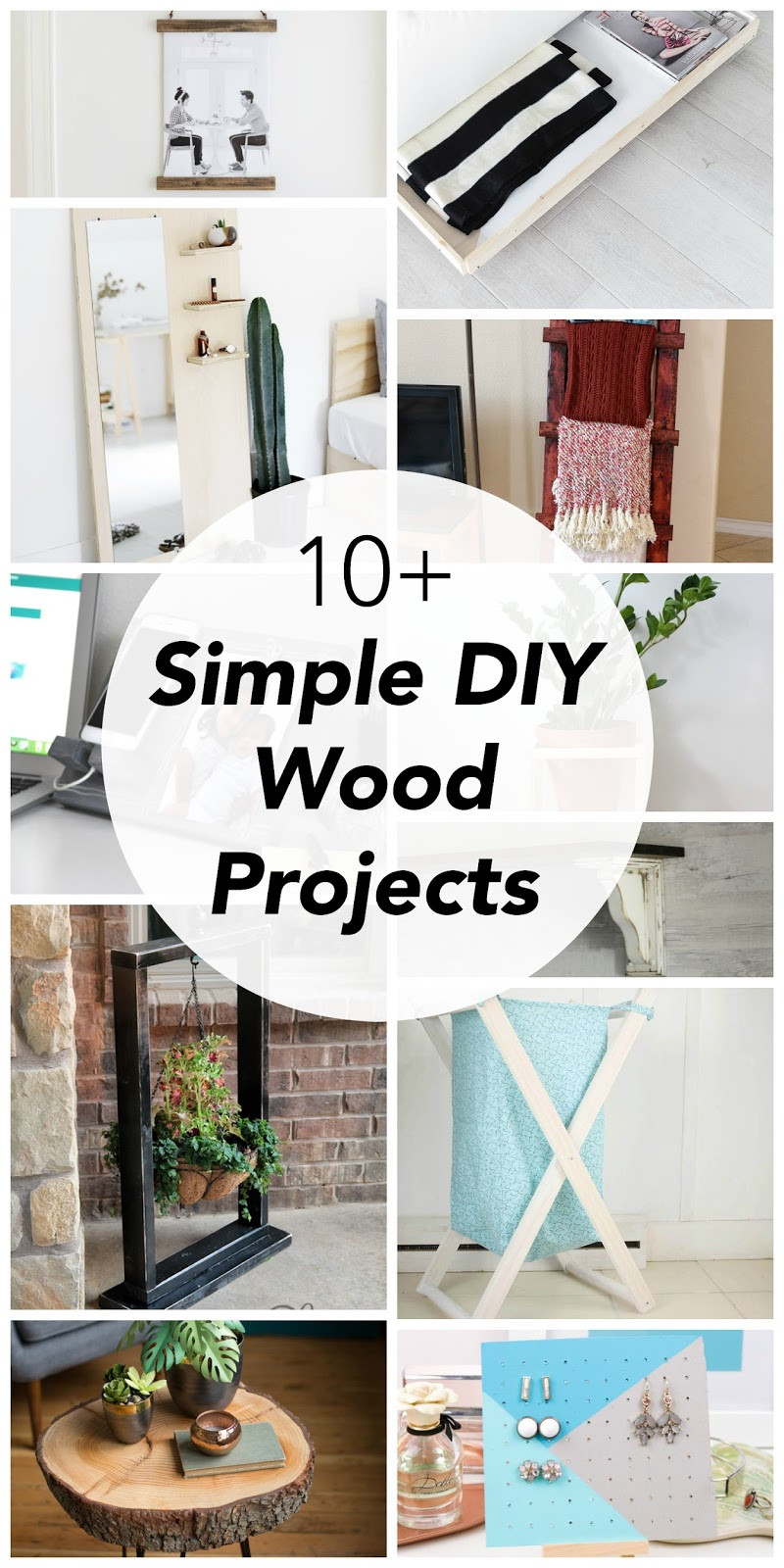 Simple DIY Wood Projects  Vikalpah 10 Simple DIY wood projects